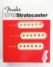 NEW set 3 micros FENDER  57'  62' STRATOCASTER - 0992117000 - strat 099-2117-000