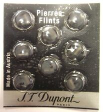 S.T. Dupont Lighter Grey Flints Pack of 8 for Ligne 1, Ligne 2 & Gatsby (600)