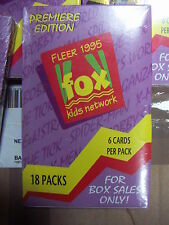 FLEER FOX KIDS NETWORK Trading Cards 5 Full Boxes by FLEER Premiere Edition