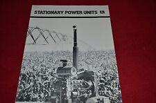 John Deere Stationary Power Units Dealer's Brochure A-30-82-4 LCOH
