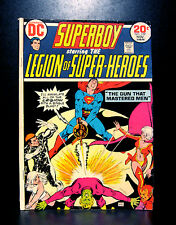 COMICS: DC: Superboy #199 (1973), 1st Hunter II (Adam Orion) app - RARE (legion)