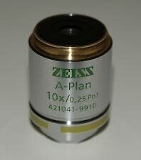 ZEISS A-Plan Objective 10x/0,25 Ph1 M27 421041-9910-000 (Ex Sales Demonstrator)