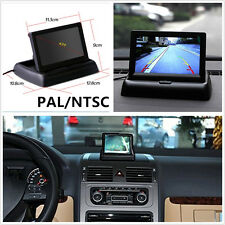 """Foldable 4.3"""" HD LCD Automobiles Reverse Rearview Parking Camera Monitor Display"""