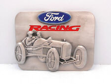 SISKIYOU FORD RACING ANTIQUE RACE CAR OPEN WHEEL LICENSED  BELT BUCKLE