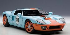 Autoart 2004 FORD GT BLUE/ORANGE PAINT SCHEME 1:18*New Item!