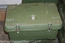 """MILITARY SURPLUS CAMBRO 3 COMPARTMENT INSULATED 8"""" DEEP FOOD CARRIER HOT COLD"""
