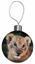 Cute Lion Cub Christmas Tree Bauble Decoration Gift, AT-3CB