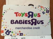 Toys R US Babies R US Merchandise Credit/Gift Card $262.77