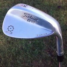 Titleist SM5 Vokey Design BV Spin Milled 54 Degree Sand Wedge 54-10 S Grind!