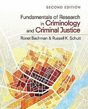 Fundamentals of Research in Criminology and Criminal Justice, Schutt, Russell K.