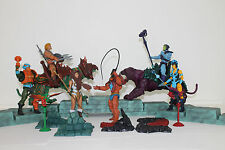 MOTUC Man At Arms, Teela, Beast Man, Evil Lyn, Battle Cat, Panthor Classics Lot
