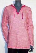 Liz Claiborne Active Long Sleeve Pullover Hooded Sweater Crema Multi Pink S