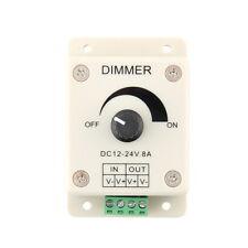 DC 12V 8A LED Light Protect Strip Dimmer Adjustable Brightness Controller FBT