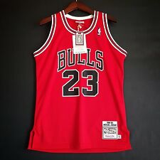 100% Authentic Michael Jordan Mitchell Ness Bulls 88 89 The Shot Jersey Sz 40 M