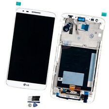 For LG Optimus G2 D802 LCD Replacement Screen Display Digitizer With Frame White