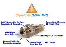 Water Meth Methanol Alcohol Injection Nozzle Fuel Jet Injector 2 GPH 126 ml/min