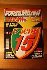 Forza Milan Speciale Maggio 1996 Scudetto 95/96 Capello Maldini Baresi Baggio