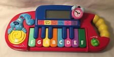 Mattel Blue's Clues Blue Play And Learn Piano Keyboard Musical 2000