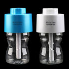 New USB Portable Mini Water Bottle Caps Humidifier Air Diffuser Mist Maker @F