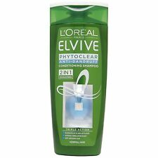 L'Oreal Elvive Phytoclear Anti- Dandruff 2 in 1 Conditioning Shampoo  250ml