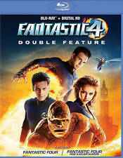 FANTASTIC FOUR DOUBLE FEATU...-FANTASTIC FOUR DOUBLE FEATURE / (P&S) Blu-Ray NEW