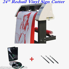 "24"" Redsail Vinyl Sign Cutter with Contour Cut Function With GIFT"