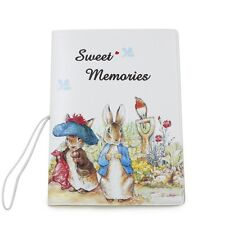 Cute 3D Peter Rabbit Identity Card Ticket Bag Passport Holder Protect Cover Case