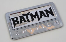Batman Edition Chrome Emblem with domed decal Car Auto motorcycle bike Badge