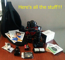 Canon EOS Rebel T3i 18MP DSLR Camera complete kit - multiple lens and MORE!