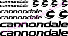 Cannondale Mountain Bike Frame vinyl Decals Stickers 23 Colours MTB Downhill