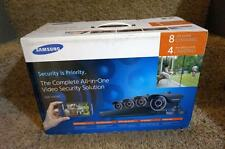 Samsung SDS-V4040N 8-Channel DVR Security System 500GB HDD w/ FOUR Cameras