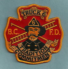 BALTIMORE CITY FIRE DEPARTMENT TRUCK COMPANY 6 PATCH