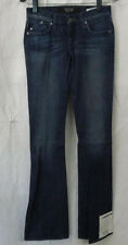 "Jeans Women Rock & Republic Size 25 Low rise 30 waist Inseam 34"" Skelaton Silver"