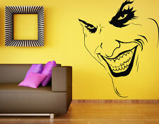 Joker Wall Decal DC Comics Hero Vinyl Sticker Supervillain Atr Home Decor (2b2j)