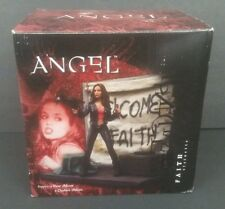"2004 Buffy The Vampire Slayer Angel ""Faith"" Statuette #1840 Of 3000 Diamond Toys"