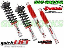 RANCHO RS999911/RS999935/RS999384 FRONT QUICKLIFT LOADED/REAR RS9000XL SHOCK KIT