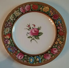 "Spode Copelands China Antique Pattern B233 Floral 10 1/2""  Dinner Plate c.1909"