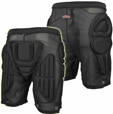 """BULLET Padded Shorts Hip Protection, Bum Pads - Skate / Snowboard SMALL 30 - 34"""""""