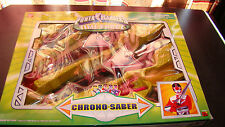 Power Rangers Time Force Chrono-Saber RARE