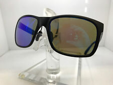 NEW!! AUTHENTIC MAUI JIM SUNGLASSES RED SANDS B432-2M MATTE BLACK/BLUEHAWAII