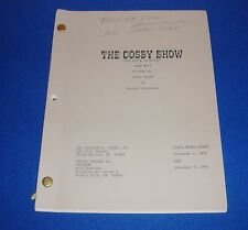 Vintage 1991 The Cosby Show Script Estate of Actress Pauline Myers