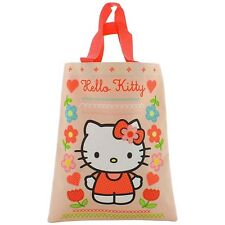 Official Hello Kitty Mini Tote Shopping Book Bag - Super Cute Girls School Bag