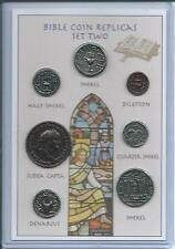 Set of 7 Bible Coin Replicas - can be used as an Educational Resource!