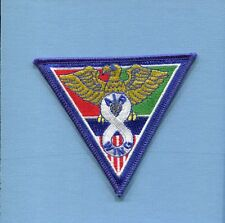 CVW-8 CARRIER AIR WING 8 US Navy Aircraft Carrier Squadron Jacket Patch