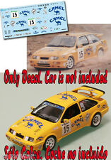 Decal 1:43 Jose Luis Rivero - FORD SIERRA COSWORTH - Rally El Corte Ingles 1991