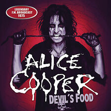 ALICE COOPER New Sealed 2016 UNRELEASED 1975 LIVE CONCERT CD