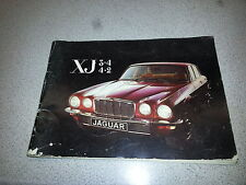 Jaguar XJ (1973-1979) 3.4 4.2 Series 2 Drivers Handbook