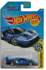 2017 Hot Wheels #166 HW Speed Graphics 2016 Ford GT Race