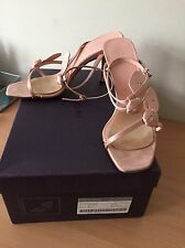 Prada Pink Silk Heels, Size 38,5 Uk 5, Wedding, Party, Bridal