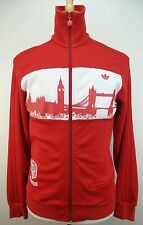 Vintage Adidas London SkyLine England Full zip Track Retro Jacket Size Adult M